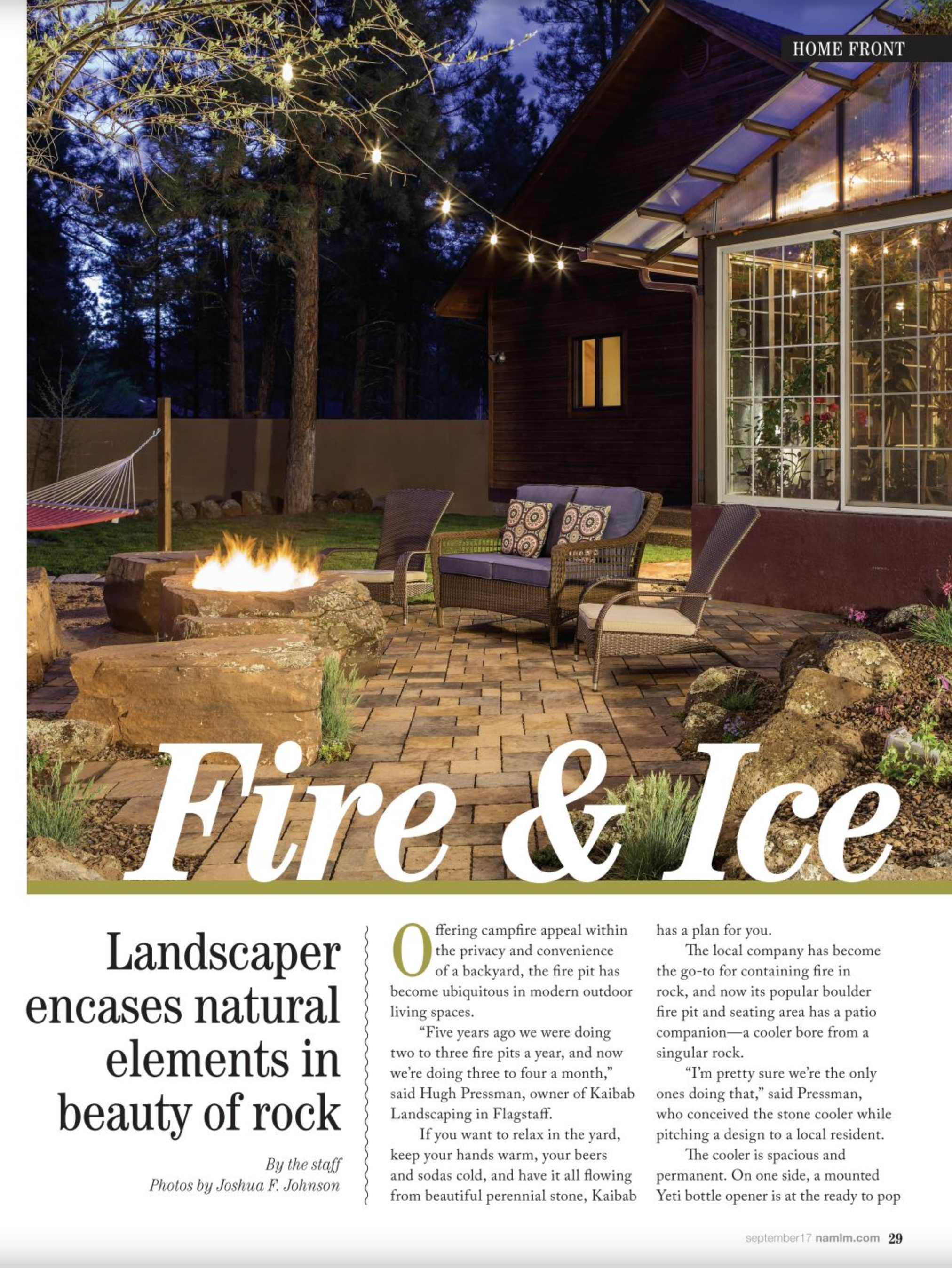Landscaping Fire Pit