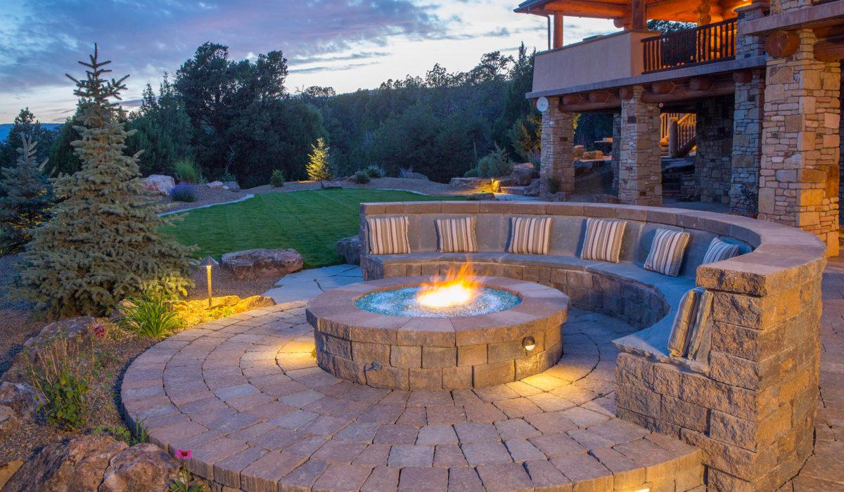 Landscape Design - Fire Pit
