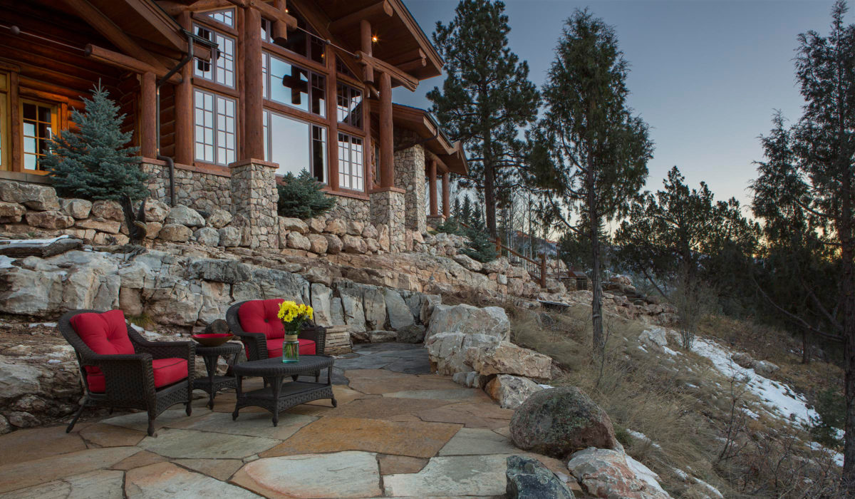 Kaibab Landscaping Flagstaff - Flagstone Patio
