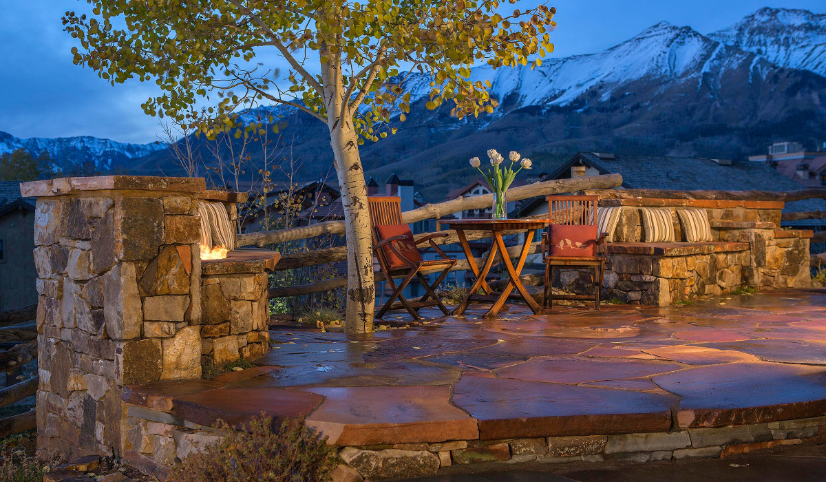 Landscape Design Flagstaff- patio construction