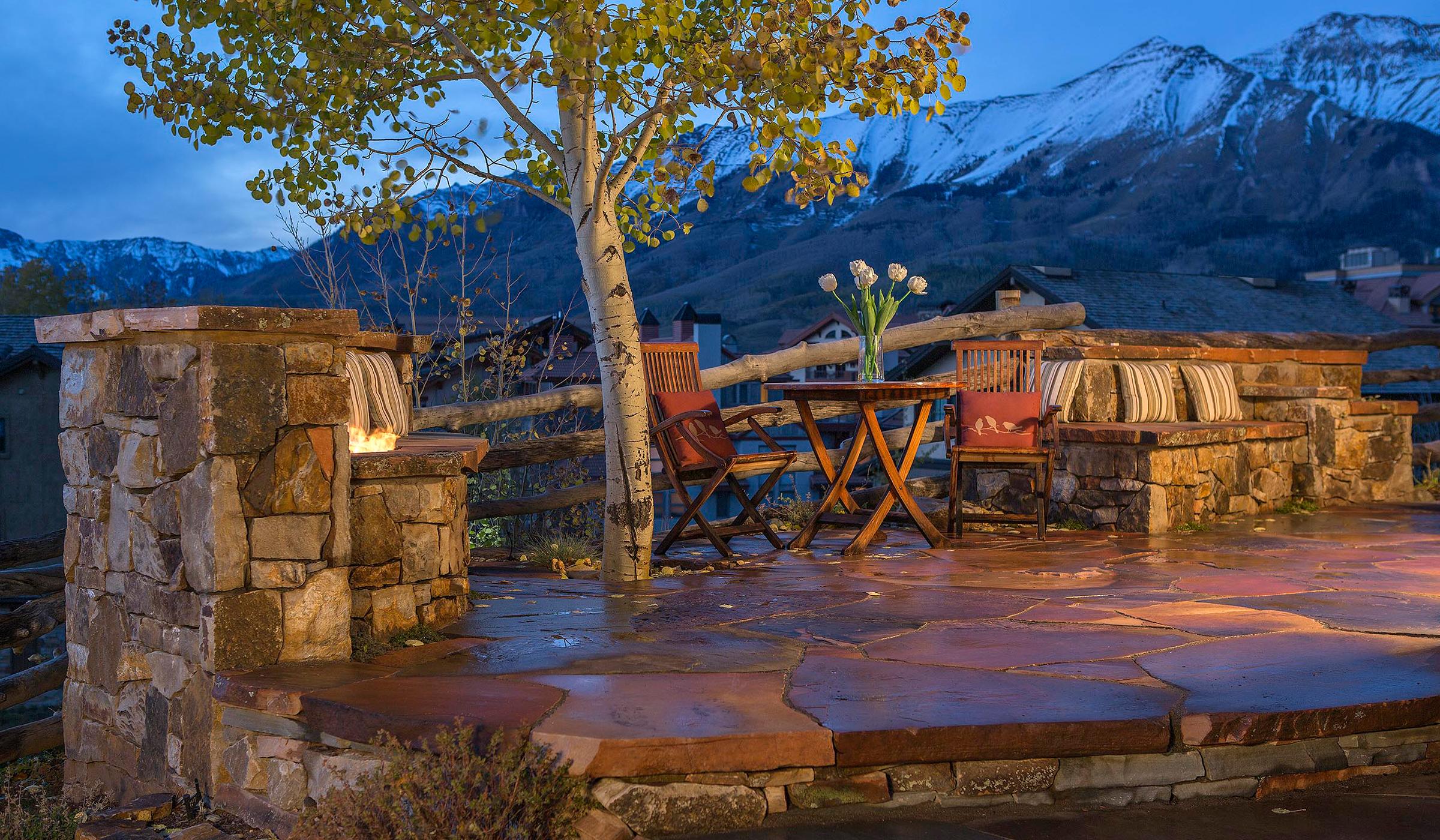 Landscape Design Flagstaff- patio construction