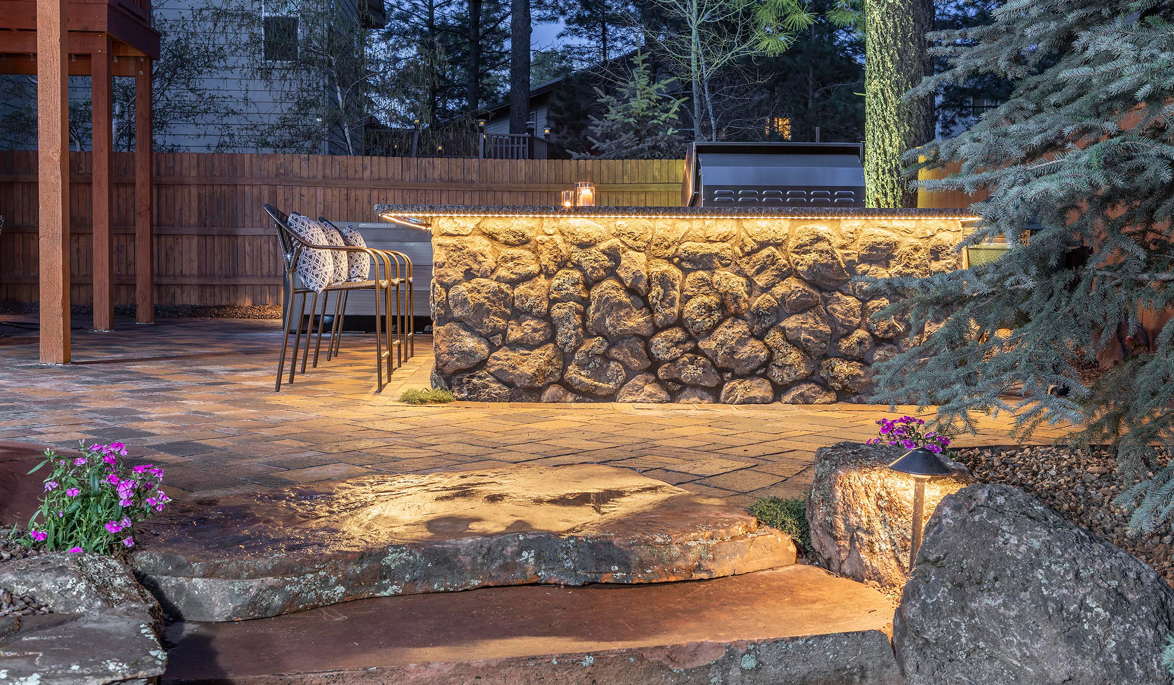 Flagstaff Landscape Design Backyard