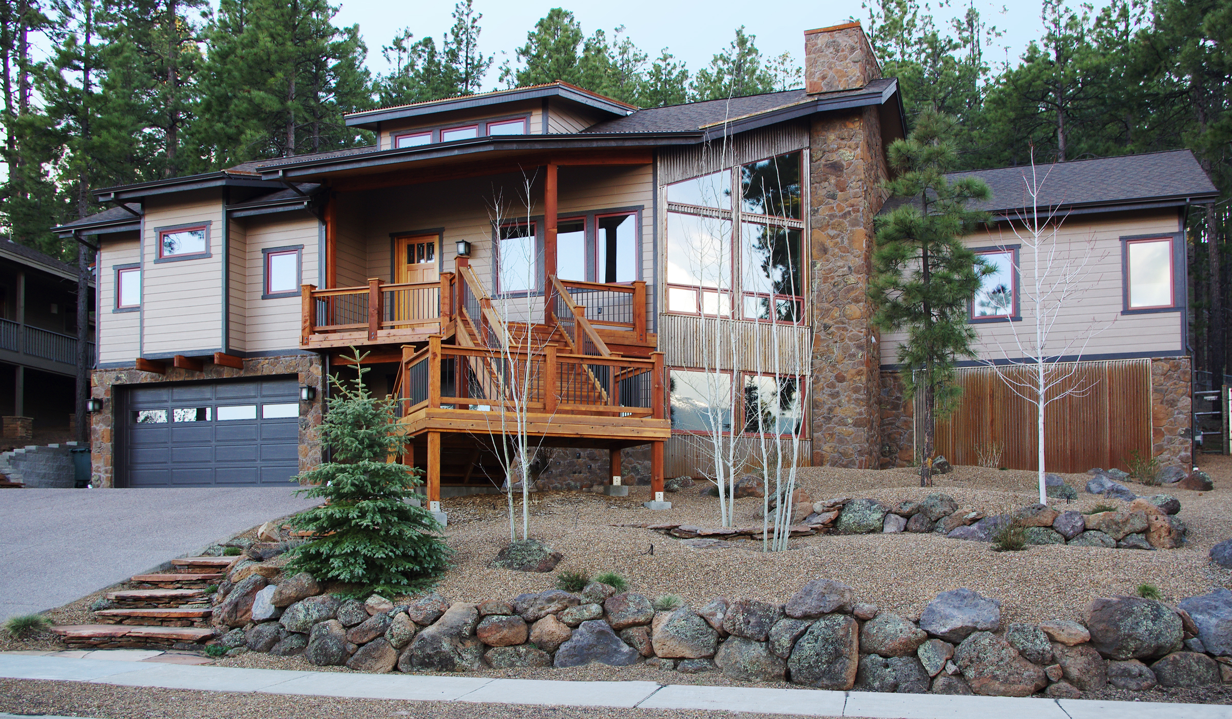 Front Yard, Landscaping Flagstaff