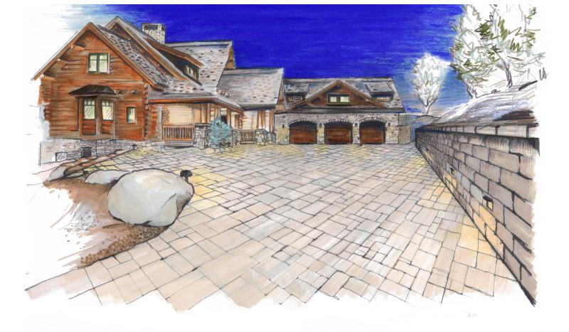 Landscape Design – Rendering Kaibab Landscaping