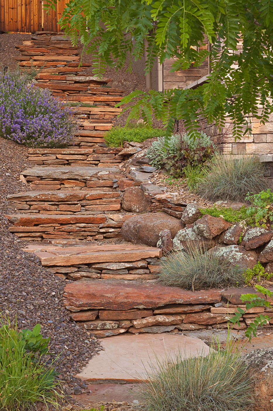 Flagstaff Landscape Construction - Steps